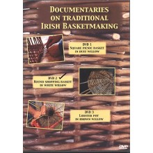 DVD2 - Round Willow Shopping Basket made by Bill Sinnott - Traditional Irish Basketmaking Documentary