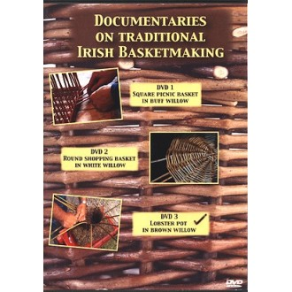 DVD3 - Willow Lobster Pot made by Paddy Coleman OToole - Traditional Irish Basketmaking Documentary