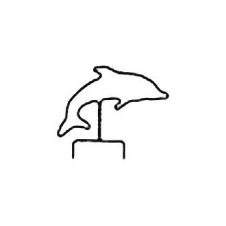 Dolphin Wire Hanger