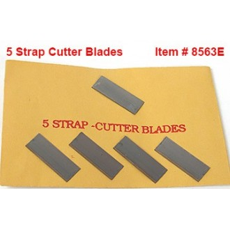 Extra Blades for Strap Cutter - pkg. of 5