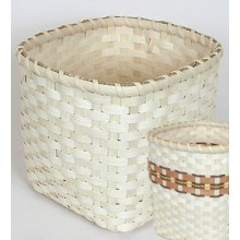 VIDEO Wooden Base Basket Instructions: How to make Shelly's Basket, starting with a wooden base