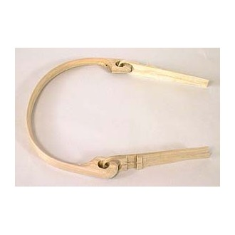 8 inch Round Mountain Swing Handle with Side-notched Ears