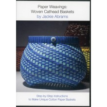 Paper Weavings: Woven Cathead Baskets (DVD) by Jackie Abrams