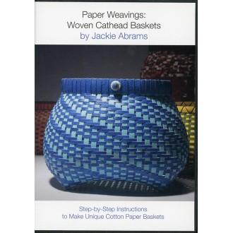 Paper Weavings: Woven Cathead Baskets (DVD) by Jackie Abrams