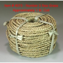 No. 3 Sea Grass - 1 lb. coil