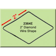 2 inch Diamond Wire Shape