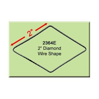 2 inch Diamond Wire Shape