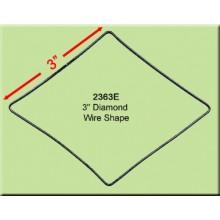 3 inch Diamond Wire Shape