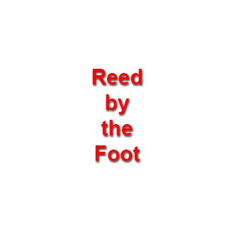 per foot - OVAL-OVAL Reed 1/4 inch - sold by the foot
