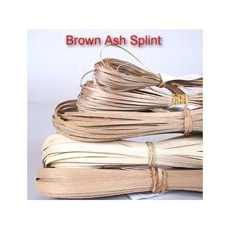 Brown Ash Splint 1/8 inch wide, 60 ft.