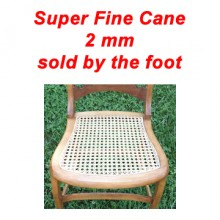 per foot - Super Fine Cane 2 mm - sold by the foot