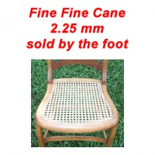 per foot - Fine Fine Cane 2.25 mm - sold by the foot
