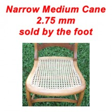 per foot - Narrow Medium Cane 2.75 mm - sold by the foot