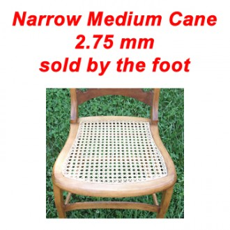 Narrow Medium Cane sold by the foot