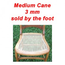 per foot - Medium Cane 3 mm - sold by the foot