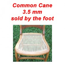 per foot - Common Cane 3.5 mm - sold by the foot