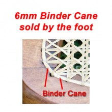 per foot - 6mm Binder Cane - sold by the foot