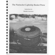 Nantucket Lightship Basket Purse Instruction Book