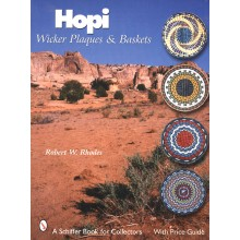 Hopi Wicker Plaques Baskets
