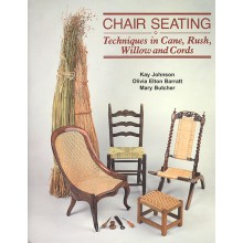 Chair Seating Techniques in Cane Rush Willow and Cords