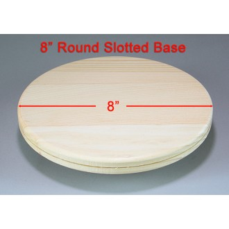 8 inch Round Slotted Base