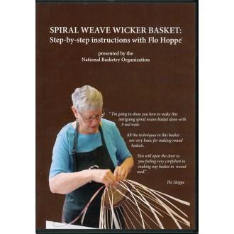 Spiral Weave Wicker Basket: Flo Hoppe (DVD)