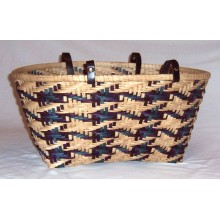Plaid Beach Tote Basket Pattern