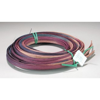 1/4 inch Flat Hearthside Varigated Dyed Reed