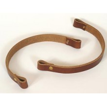 11 inch x 3/4 inch Leather Handles - pair