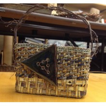 Discover and Play - Willow Bark 'Shingle-Weave Purse' Workshop with Judy Zugish