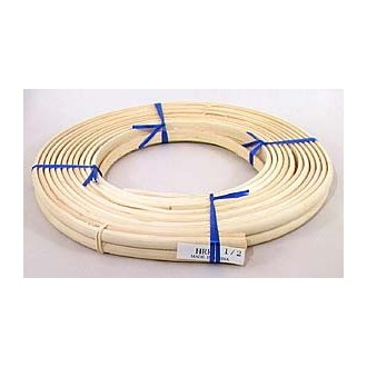 """1/2"""" Half Round Reed (Split Reed) - 1 lb. coil TEMPORARILY OUT OF STOCK"""