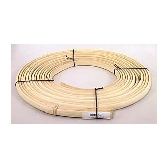 "5/8"" Half Round Reed (Split Reed) - 1 lb. coil"