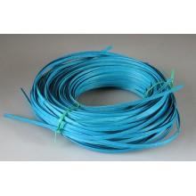 """Aqua Marine 1/4"""" Dyed Flat Reed - 1/2 Lb."""