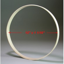 12 inch x 1 1/8 inch Round Solid Hardwood Hoop