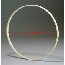10 inch x 1/2 inch Round Solid Hardwood Hoop