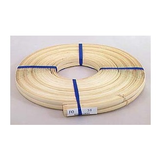 """3/8"""" Flat Oval Reed - 1 lb. coil"""
