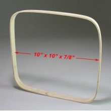 10 in. x 10 in. x 7/8 in. Square Hoop