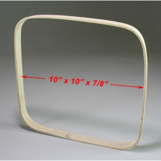 10 x 10 x 7/8 Square Hoop