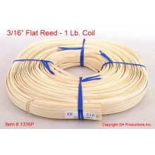 "3/16"" Flat Reed - 1 lb. coil"
