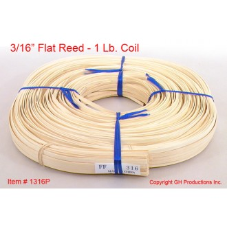 3/16 inch flat reed