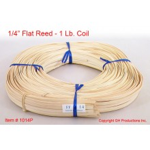 "1/4"" Flat Reed - 1 lb. coil"