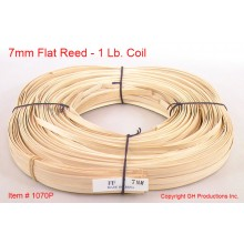7mm Flat Reed - 1 lb. coil