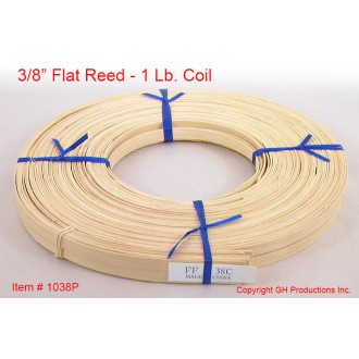 3/8 inch flat reed