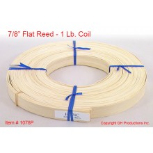 "7/8"" Flat Reed - 1 lb. coil"