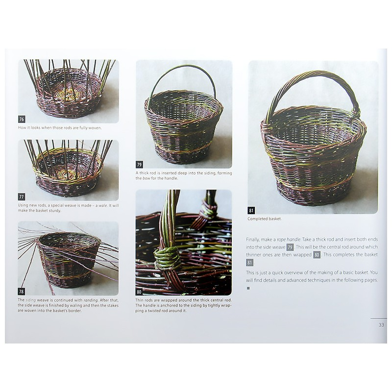 Basketry: The Art of Willow Craft - The Basket Maker\'s Catalog