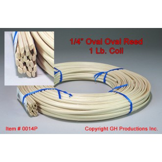 1/4 inch Oval Oval Reed
