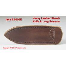 Heavy Leather Sheath / Knife, Scissor, Awl, Fid