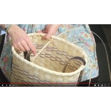 VIDEO - How to Lash a Splint Basket Rim