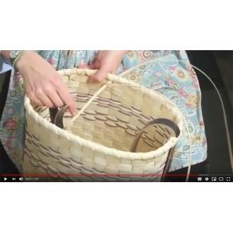 VIDEO - How to Lash a Splint Basket Rim