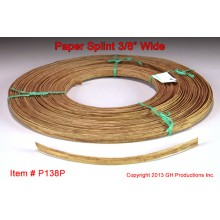 Paper Splint, 3/8 inch wide, 1 pound coil